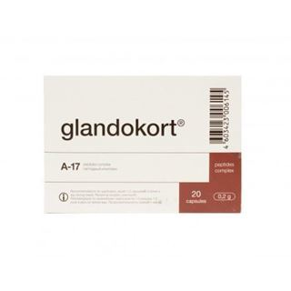 Glandokort is an adrenal peptide dietary supplement made from animal sources and can be used to supplement the diet with high quality peptides.