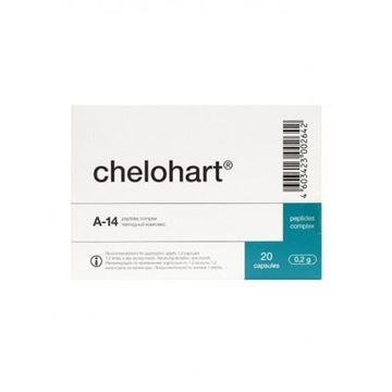 Chelohart is a heart peptide specifically designed to help repair and regenerate the heart. It may be helpful for coronary artery disease, hypertension, hypertonia, myocarditis, atrial fibrillation and heart failure.