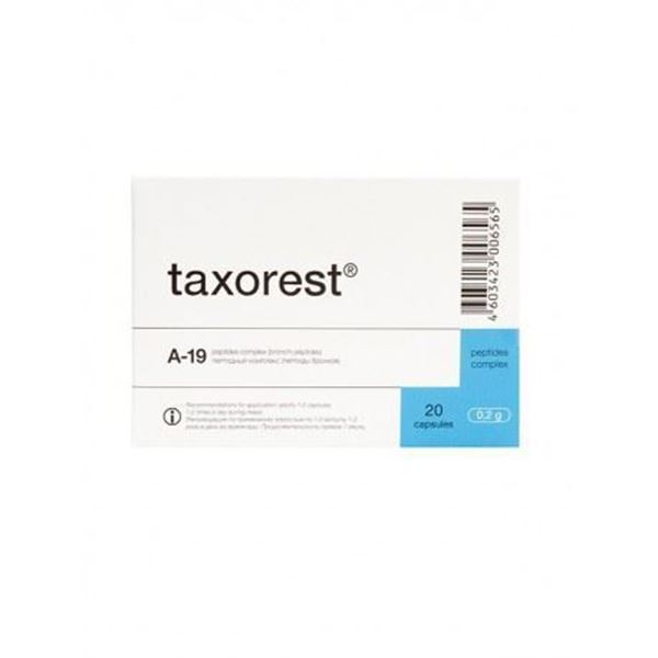 Taxorest is a lungs peptide dietary supplement made from animal sources and can be used to supplement the diet with high quality peptides.