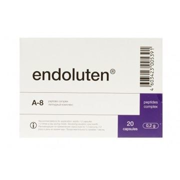 Endoluten is a pineal gland peptide that may help to repair and regenerate the pineal gland. Improving the health of the pineal may help to aid sleep (boost melatonin), lengthen telomeres and regulate the neuroendocrine, immune and cardiovascular systems.