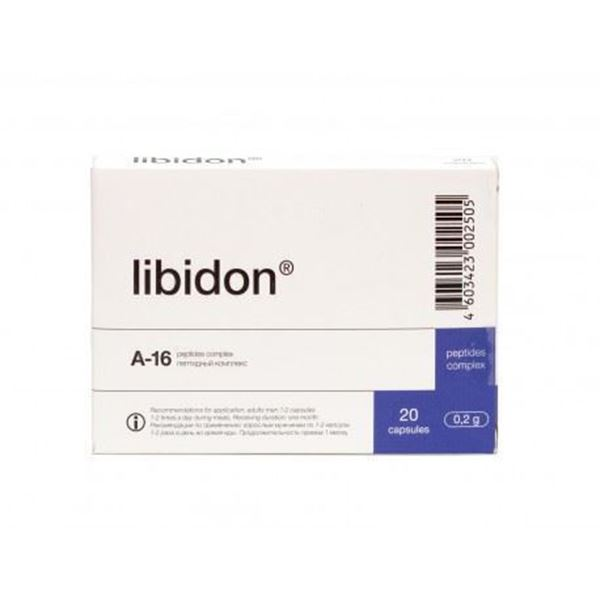 Libidon is a prostate peptide dietary supplement made from animal sources and can be used to supplement the diet with high quality peptides.