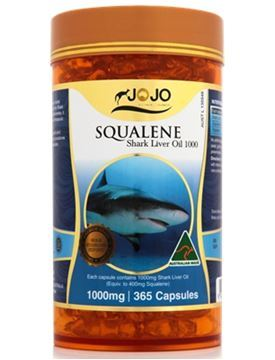 Picture of Jo Jo Squalene Shark Liver Oil 1000mg 365s