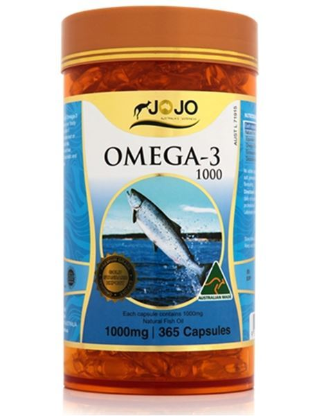 Picture of Jo Jo Omega-3 1000mg 365s