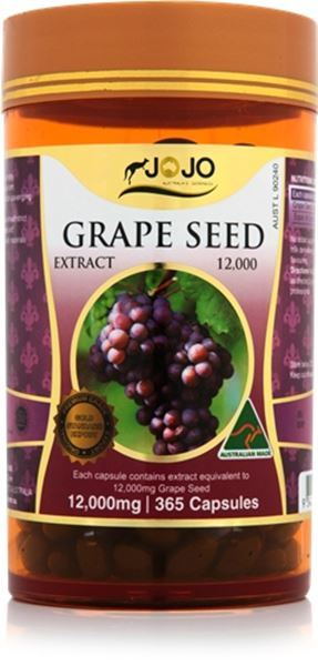 Picture of Jo Jo Grape Seed 12,000mg 365s