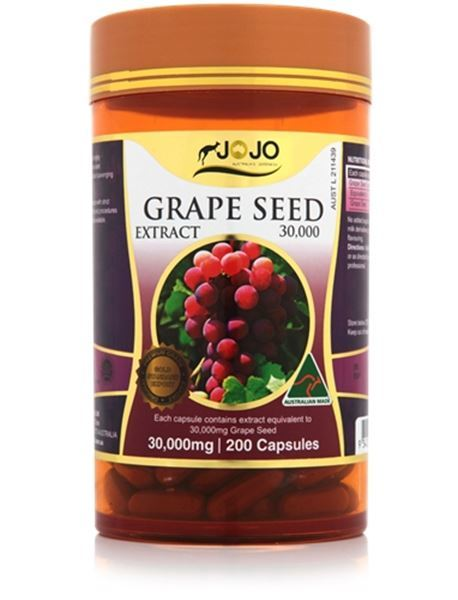 Picture of Jo Jo Grape Seed 30,000mg 200s