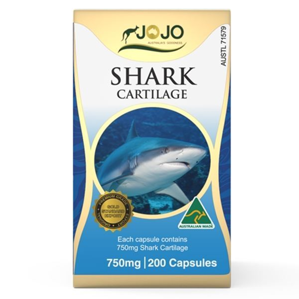 Picture of Jo Jo Shark Cartilage 750mg 200s