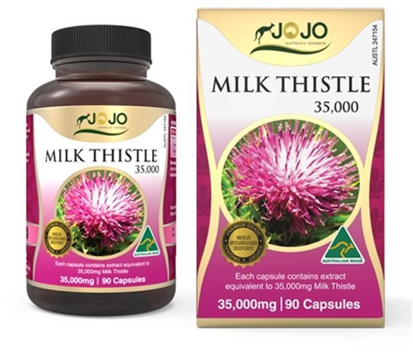 Picture of Jo Jo Milk Thistle 35,000mg 90s