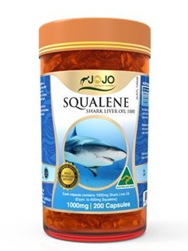 Picture of Jo Jo Squalene Shark Liver Oil 1000mg 200s