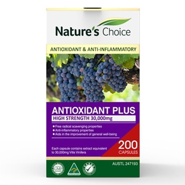 Picture of Antioxidant Plus 30,000mg 200s w/box
