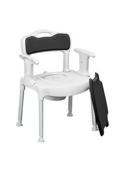 Picture of Etac Cushioned Commode Chair