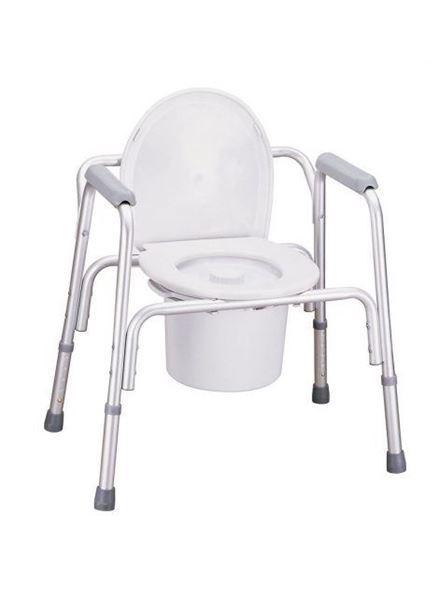 Aluminium Commode Chair