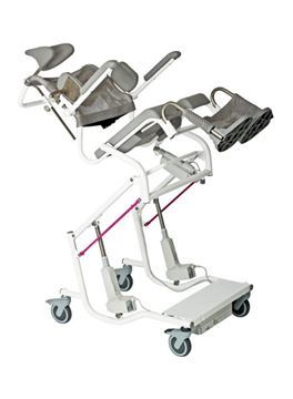 Picture of M2 Multi-Tip Shower Commode Chair