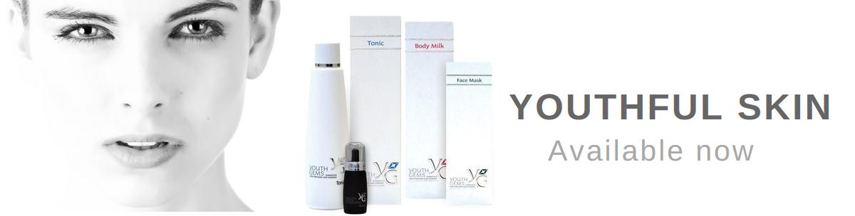 Youth Gems Skin Care Range