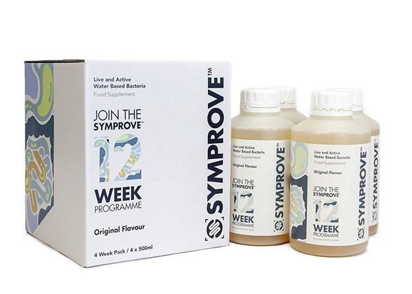 Symprove is the leading water based multi-strain probiotic supplement containing 4 strains of live activated bacteria that can help to balance the gut and support gut health