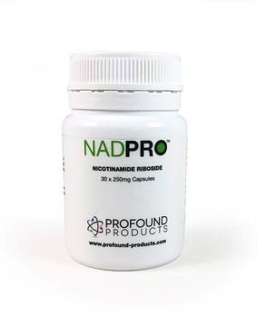 Boost your levels of NAD+ with a Nicotinamide Riboside supplement such as NAD Pro.