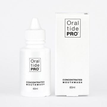 Oraltide Pro: a unique peptide based mouthwash that may speed the healing of mouth and tongue, and may help with enamel remineralization and may promote the growth of shrinking gums.
