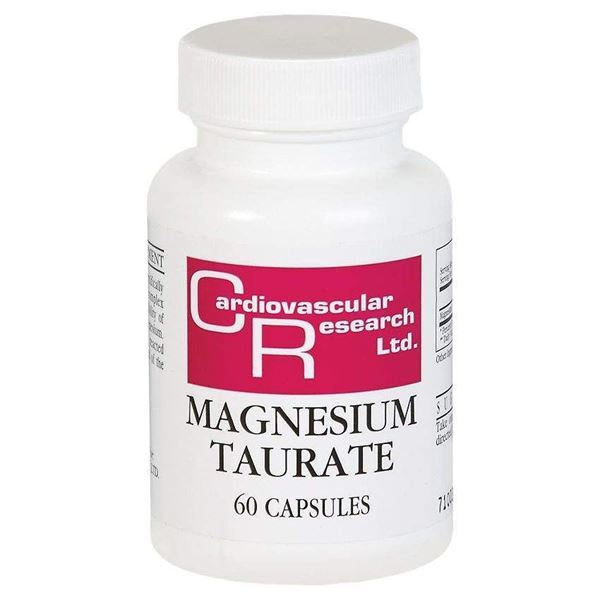 Magnesium Taurate 125mg By Cardiovascular Research